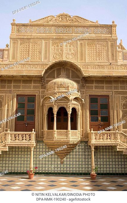 Jawahir Vilas palace Jaisalmer Rajasthan India Asia