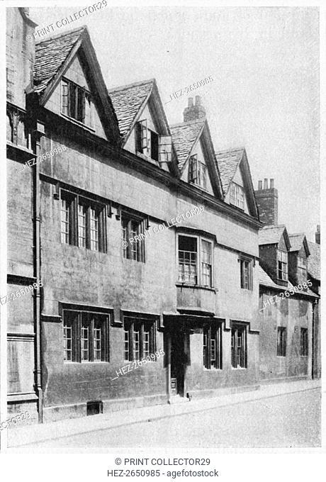 'Biham or Beam Hall, Oxford', 1903. Artist: Unknown