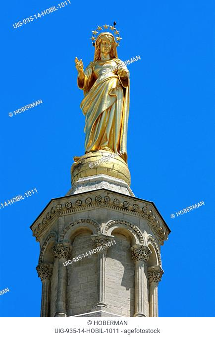 Virgin Mary Statue, Avignon Cathedral, France