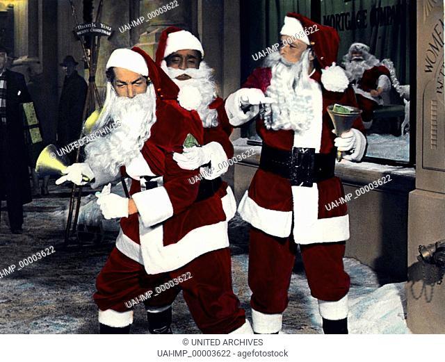 Sieben gegen Chicago, (ROBIN AND THE SEVEN HOODS) USA 1964, Regie: Gordon Douglas, DEAN MARTIN, SAMMY DAVIS JR., FRANK SINATRA, Stichwort: Weihnachtsmann