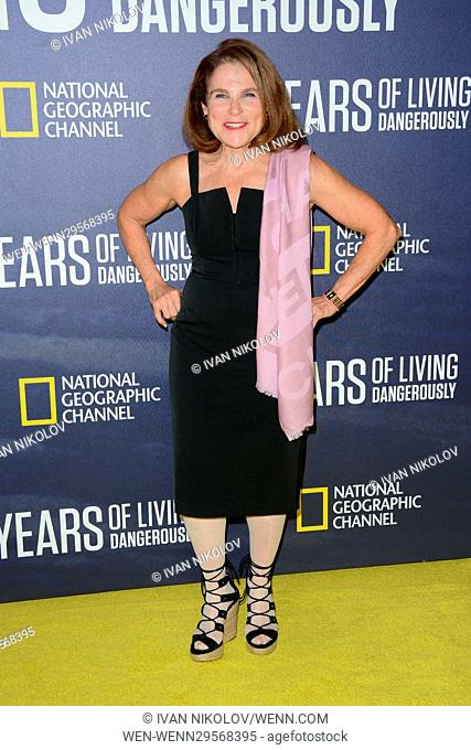 National Geographic's 'Years Of Living Dangerously' New Season World Premiere at The American Museum of Natural History - Red Carpet Arrivals Featuring: Tovah...