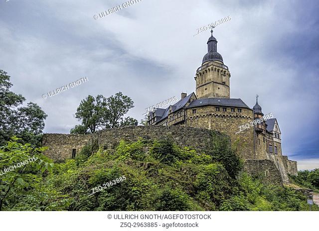 Falkenstein Castle in the Harz Mountains, Saxony-Anhalt, Germany