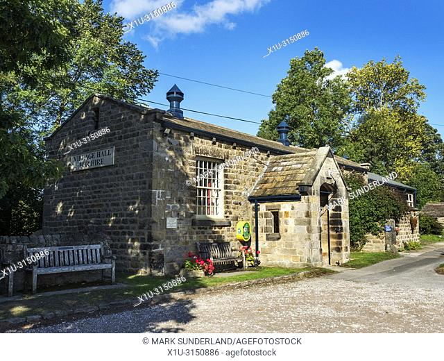 Village Hall in Leathlet in the Washburn Valley North Yorkshire England