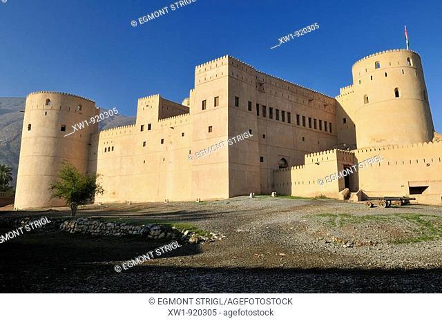 Rustaq Fort. Al Batinah Region, Sultanate of Oman, Arabia, Middle East