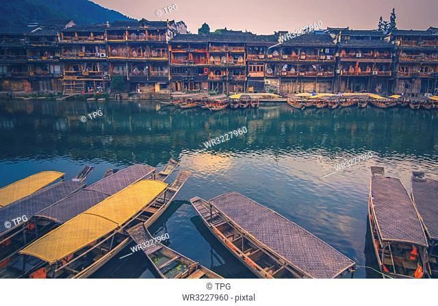 Ancient town;Phoenix; Hunan; China