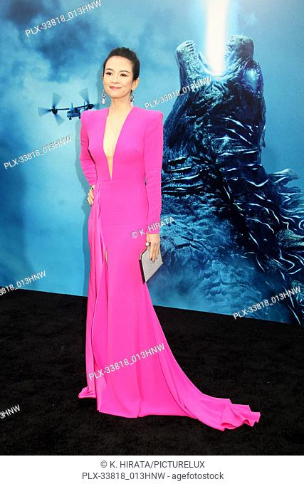 """Ziyi Zhang 05/18/2019 """"""""Godzilla: King of the Monsters"""""""" Premiere held at the TCL Chinese Theatre in Hollywood, CA. Photo by K"""