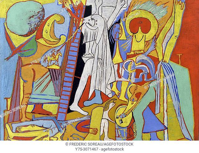 La crucifixion, 1930, Pablo Picasso (1881-1973), Picasso museum, Paris, France