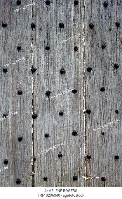 Wooden Fence With Bolts Tunisia