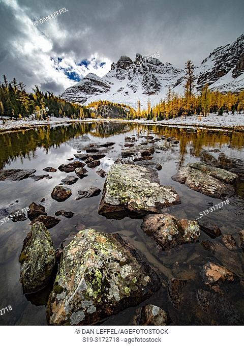 Canadian Rockies. Assiniboine Provincial Park. Gog Lake