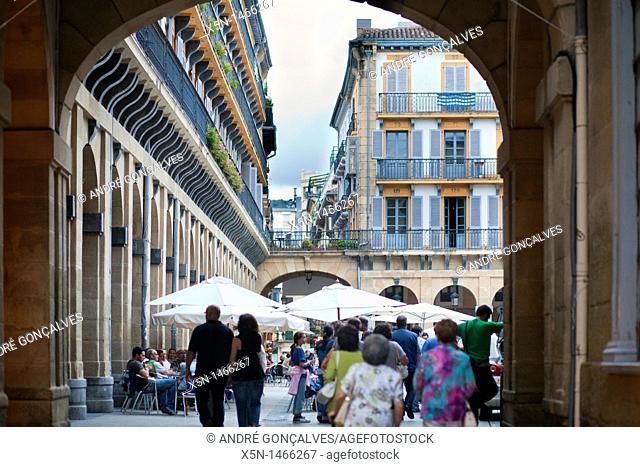 Streets of San Sebastian, Spain