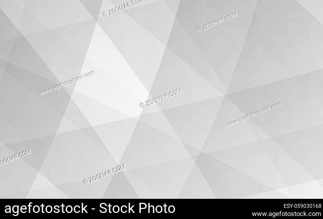 Abstract gray background with shadows and lines - Vector illustration