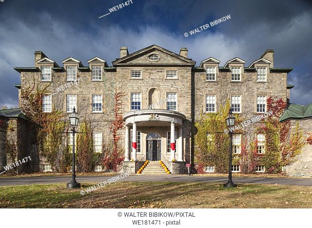 Canada, New Brunswick, Central New Brunswick, Fredericton, Government House, one time residence of British governors