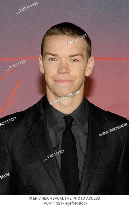 Will Poulter in attendance at The Revenant Premiere at the Empire Leicester Square Theater on January 14, 2016 in London, England
