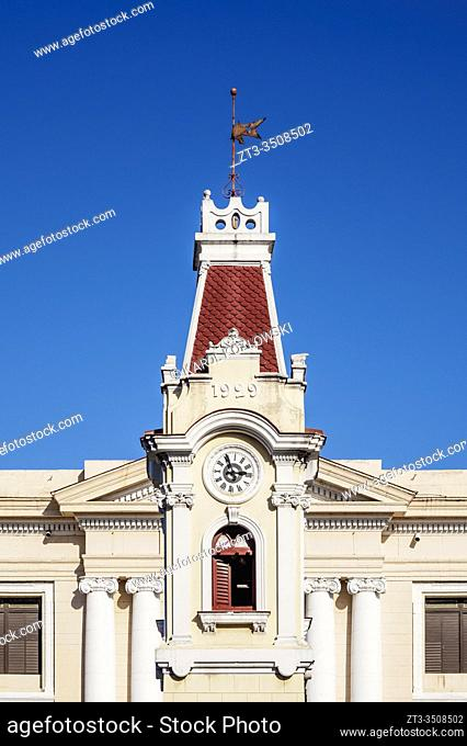 Clock Tower and Aduana Building, Port of Santiago de Cuba, Santiago de Cuba Province, Cuba