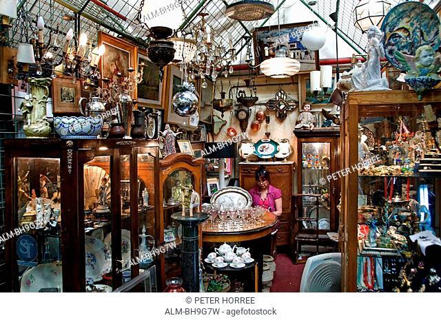 Buenos Aires Argentina San Telmo Antique shop Flea Market
