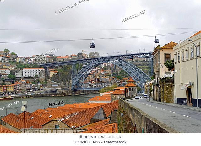 Ponte Dom Luís I, Seibahn, Gondeln, Duoro