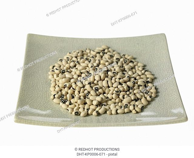 Plate of Blackeye Beans