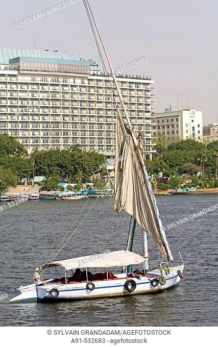 River Nile. City of Cairo. Egypt