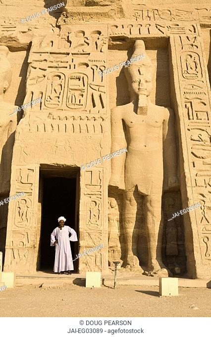 Temple of Hathor, Abu Simbel, Aswan, Egypt