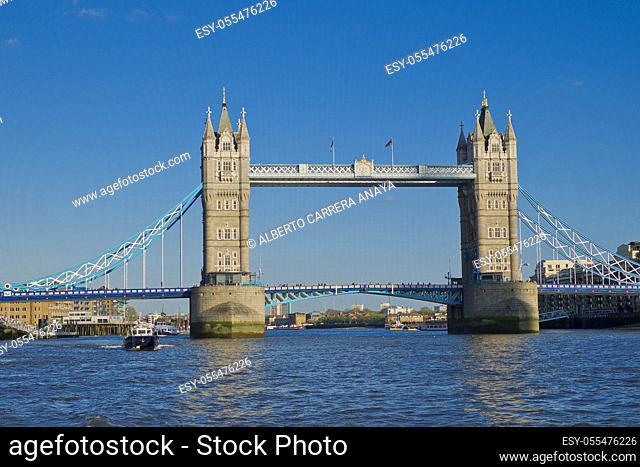 Tower Bridge, London, England, Great Britain, Europe