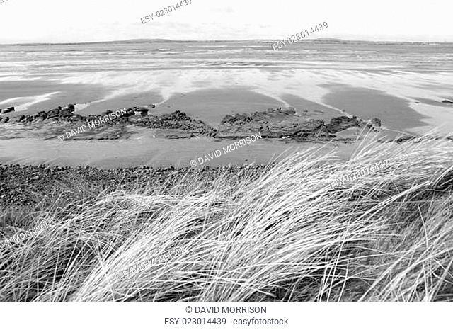 view of unusual looking mud banks
