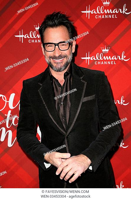 Hallmark Channel Screening of Christmas at Holly Lodge Featuring: Lawrence Zarian Where: Los Angeles, California, United States When: 04 Dec 2017 Credit:...
