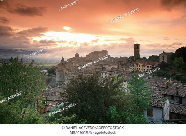 Anghiari village, Tuscany, Italy, Europe