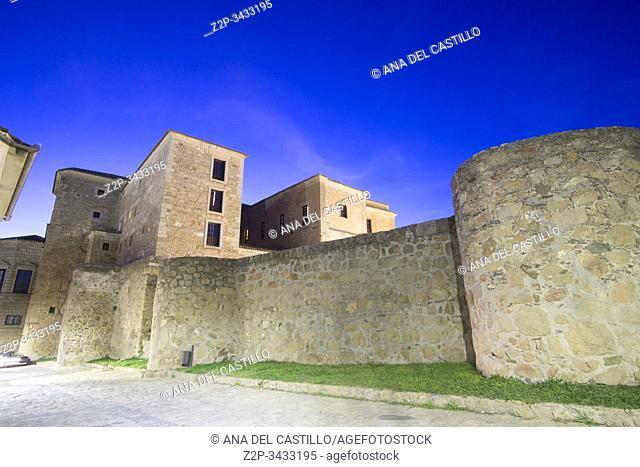 Oropesa in Toledo province, Castile La Mancha, Spain: The state run hotel at Oropesa palace