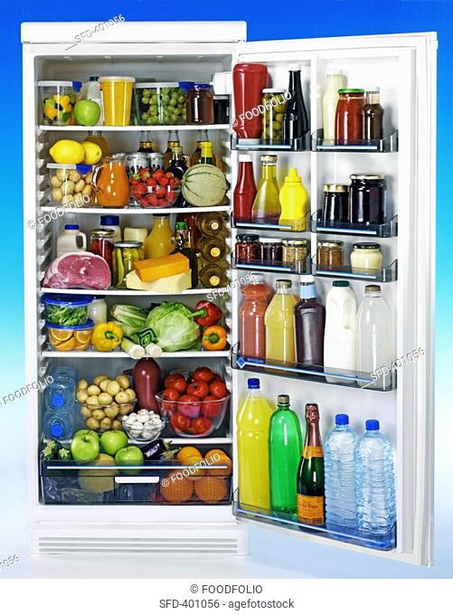 Food in refrigerator Not available for exclusive usages