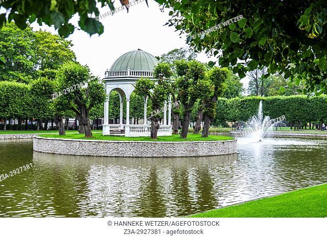 The Kadriorg park of Tallinn, Estonia, Europe