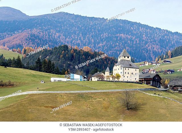 Museum Ladin Ciastel De Tor, Trentino-Alto Adige/Südtirol, South Tyrol, Italy