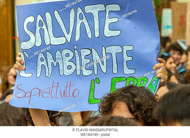School strike for climate, Lecce 27 september 2019