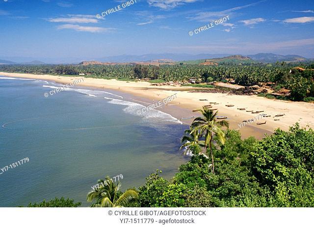 The beach of Gokarna, Karnataka, India
