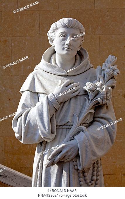 VERONA - Statue of Antonius, Verona, Italia ANP COPYRIGHT RONALD NAAR
