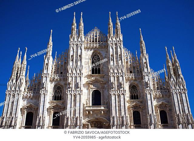 Milan Cathedral, Milan, Lombardy, Italy
