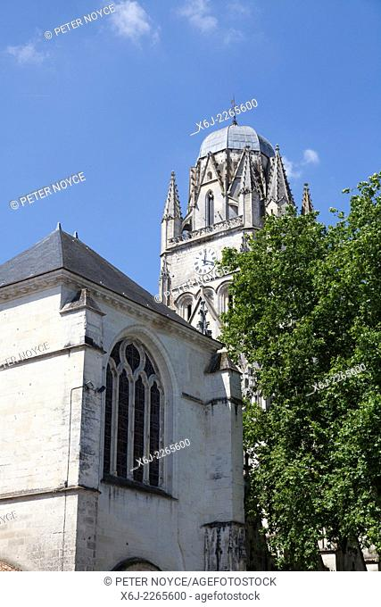The Cathedral of Saint Peter In Saintes France