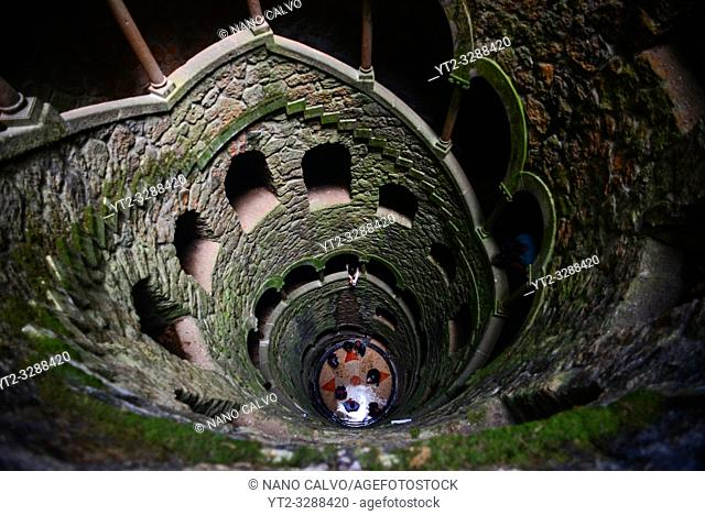 Initiation Well at Quinta da Regaleira, Sintra, Portugal