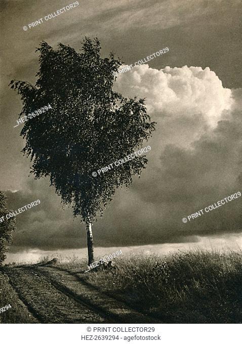 'Masuren - Brewing thunderstorm', 1931. Artist: Kurt Hielscher
