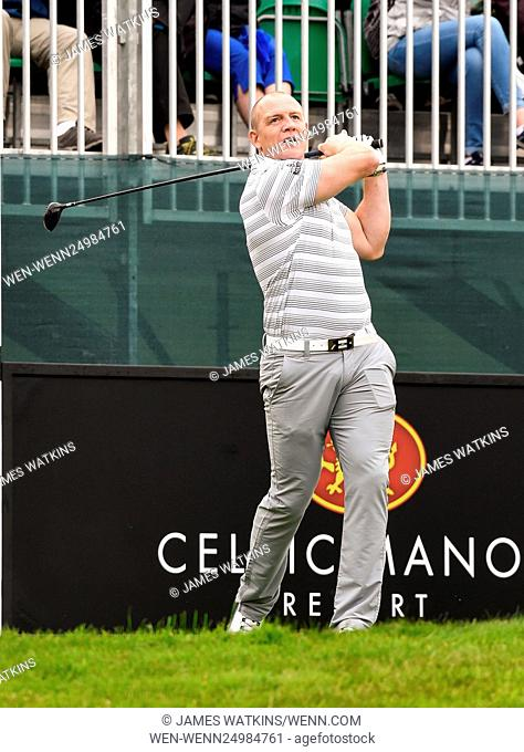 The Celebrity Cup 2016 at Celtic Manor, Wales Featuring: Mike Tindall Where: Wales, United Kingdom When: 09 Jul 2016 Credit: James Watkins/WENN.com