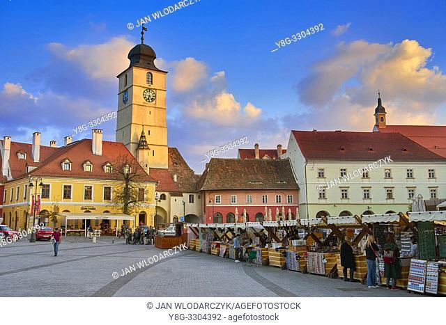 Sibiu old town, Romania