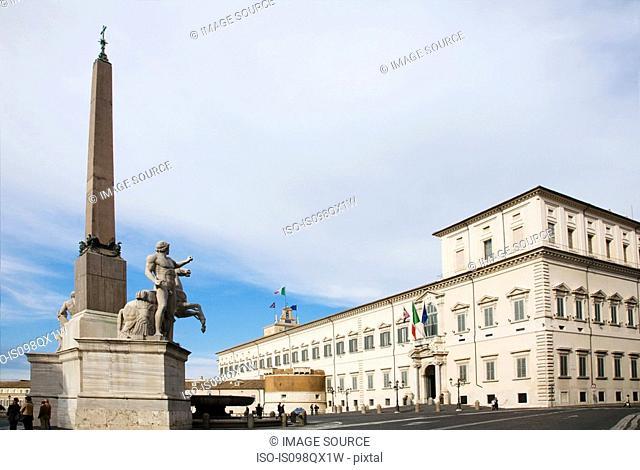 Palazzo del quirinale rome