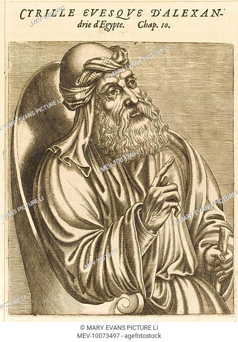 SAINT CYRIL Bishop of Alexandria