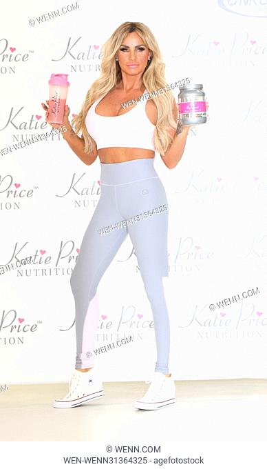 Katie Price Nutrition Press Call at the Worx Studio, Fulham, London Featuring: Katie Price Where: London, United Kingdom When: 25 Apr 2017 Credit: WENN