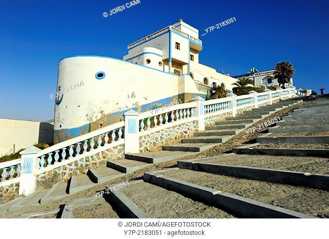 The Boat House . Sidi Ifni. Morocco .North Africa