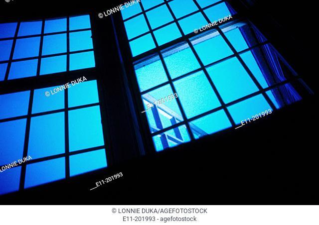 Architectural window detail