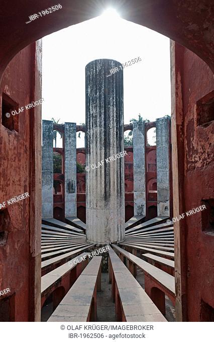 Observatory Jantar Mantar, New Delhi, India, Asia