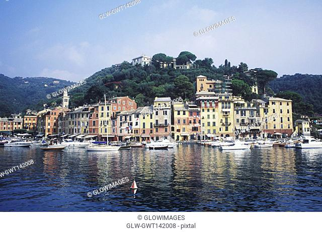Buildings at the waterfront, Italy