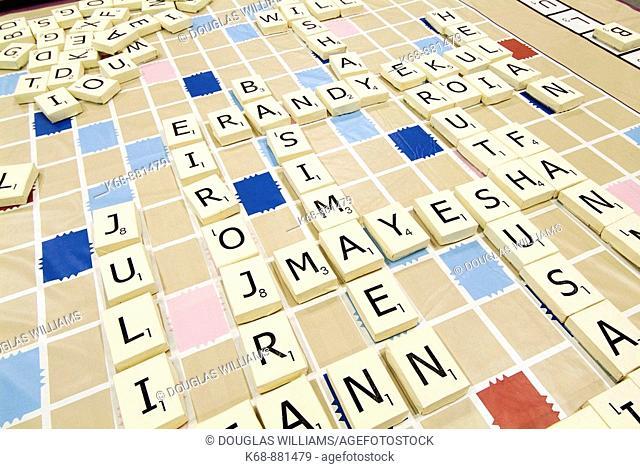 oversize Scrabble board