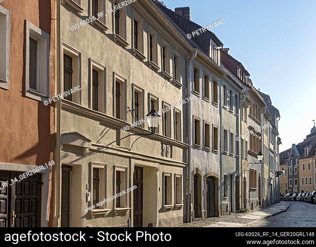 Steinweg street in Görlitz Nikolaivorstadt (Goerlitz), Germany