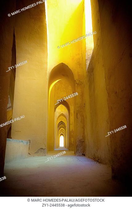 Inside the Alcazar of Seville